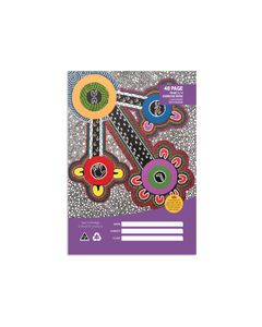 Cultural Choice A4 48p YR3/4 QLD Excercise Book 12mm Rule with Margin PK x 20
