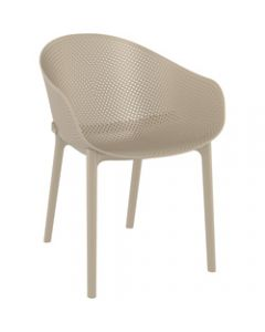 Sky Outdoor Chair Taupe