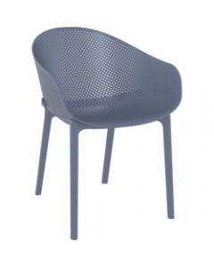 Sky Outdoor Chair Anthracite