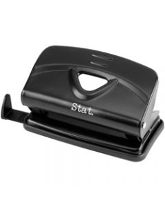 STAT HOLE PUNCH,2 Hole Small Metal,Black