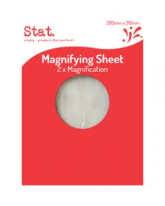 STAT MAGNIFYING SHEET,280mmx210mm