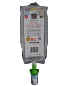 Cultural Choice Hand Sanitiser 70% Alcohol 1 litre pouch in cartons of 6