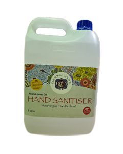 Cultural Choice Hand Sanitiser 70% Alcohol 5L Bottle x Crt 3