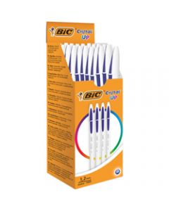 BIC Cristal Up Ballpoint Pen,Blue Pack of 20
