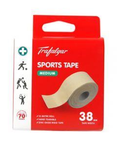 TRAFALGAR SPORTS TAPE,Medium,38mm x 15m