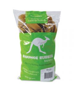BOUNCE RUBBER BANDS®,SIZE 106 ,500GM BAG