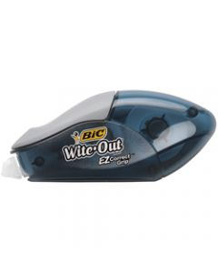 BIC WITE OUT CORRECTION TAPE,EZ Grip