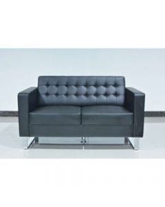 CHESTER LOUNGE,Two Seater,Black