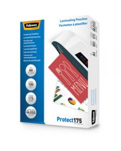 FELLOWES IMAGELAST,Laminating Pouch A4 175 Micron,Pack of 100