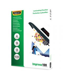 FELLOWES IMAGELAST,Laminating Pouch A3 100 Micron,Pack of 100