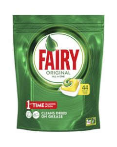 FAIRY DISHWASHER TABLETS,ALL-IN-ONE LEMON,Pack of 44