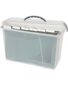 CRYSTALFILE CARRY CASE,Clear