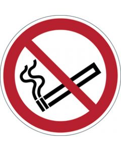 DURABLE SAFETY SIGN -,SMOKING PROHIBITED,Red