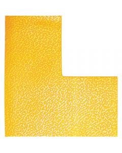 DURABLE FLOOR MARKING SHAPE -,L Yellow,Pack of 10