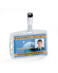 DURABLE ID SECURITY PASS,HOLDER SET,Pack of 10