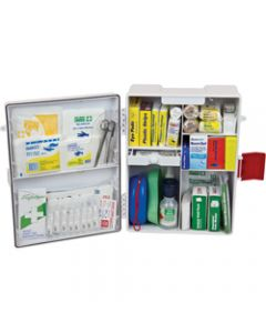 TRAFALGAR WALLMOUNT FIRST AID,KIT NATIONAL WORKPLACE ABS,Plastic White