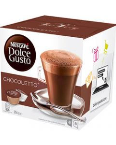 NESCAFE DOLCE GUSTO,CHOCOLATE CAPSULES,Pack 8