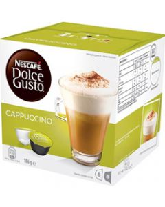 NESCAFE DOLCE GUSTO,CAPPUCCINO,Pack 16