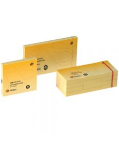 MARBIG NOTES,40mm x 50mm,Yellow 1200 Sheets Pack