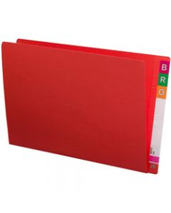 AVERY SHELF LATERAL FILES F C Extra Heavy Weight Red Box of 100