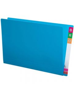 AVERY SHELF LATERAL FILES F C Extra Heavy Weight Blue Box of 100
