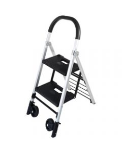 DURUS FOLDING LADDER TROLLEY,2 Step