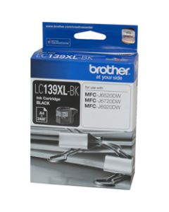 BROTHER INK CARTRIDGE LC-139X Black Up to 2,400 Pages