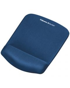FELLOWES MOUSE PAD WRIST REST,Plush Touch Lycra W/ Microban