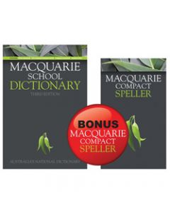 MACQUARIE SCHOOL DICTIONARY,Compact Speller Value Pack