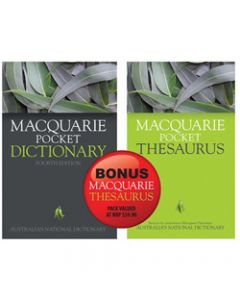 MACQUARIE POCKET DICTIONARY,Pocket Thesaurus Value Pack