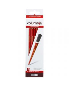 COLUMBIA COPPERPLATE PENCIL,Hexagon B Pack of 20