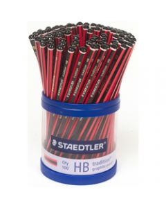 STAEDTLER PENCILS TRADITION,110 HB,Pack of 100