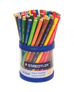 NORIS PENCILS COLOURED,Maxi Learner,Assorted Cup of 70