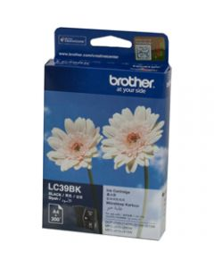 BROTHER INK CARTRIDGE LC-39BK Black