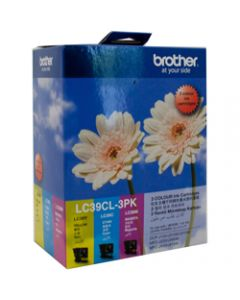 BROTHER INK CARTRIDGE LC-39CL3PK Value Pack