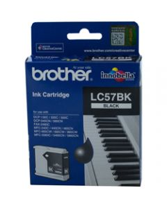 BROTHER INK CARTRIDGE LC-57BK Black