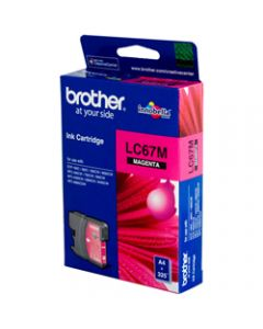 BROTHER INK CARTRIDGE LC-67M Magenta