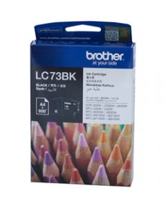 BROTHER INK CARTRIDGE LC-73BK Black