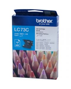 BROTHER INK CARTRIDGE LC-73C High Yield Cyan