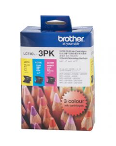 BROTHER INK CARTRIDGE LC-73CL3PK Value Pack