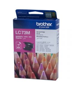 BROTHER INK CARTRIDGE LC-73M Magenta