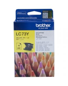 BROTHER INK CARTRIDGE LC-73Y Yellow