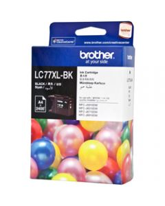 BROTHER INK CARTRIDGE LC-77XLBK Black