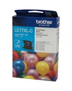 BROTHER INK CARTRIDGE LC-77XLC Cyan
