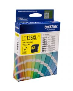 BROTHER INK CARTRIDGE LC-135XLY Yellow