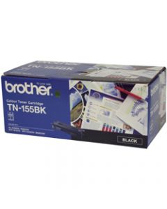 BROTHER TONER CARTRIDGE TN-155BK Black