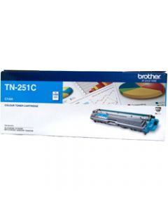 BROTHER TONER CARTRIDGE TN-251C Cyan