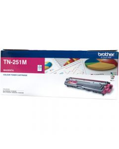 BROTHER TONER CARTRIDGE TN-251M Magenta