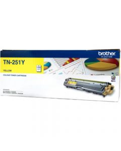 BROTHER TONER CARTRIDGE TN-251Y Yellow