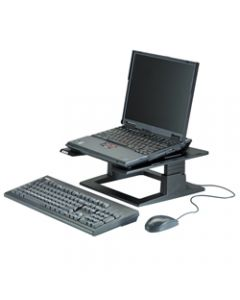 3M NOTEBOOK RISER Adjustable,LX500 Black